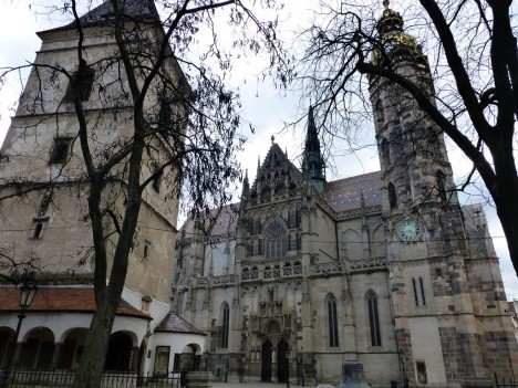 St. Elizabeth Cathedral and Urban Tower, Kosice, Slovakia