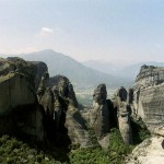 Meteora mountains, Greece