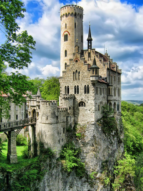 Lichtenstein Castle (HDR photo), Germany