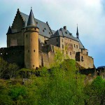 Vianden Castle – one of the most beautiful romanesque-gothic castles in Europe | Luxembourg