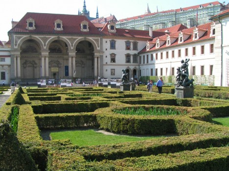 Wallenstein Garden, Prague, The Czech Republic