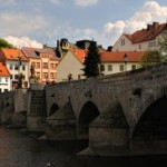 Stone bridge in Písek – the oldest bridge in Central Europe | Czech Republic