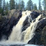 Hepoköngäs – the highest waterfall in Finland