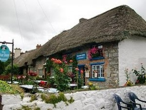 Adare - the most beautiful village in Ireland