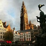 The city of Antwerp with one of the largest seaports in Europe | Belgium