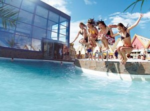 Lalandia Billund - one of the biggest aquaparks in Denmark