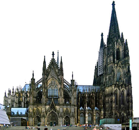 Cologne Cathedral - one of the best-known architectural monuments in Germany