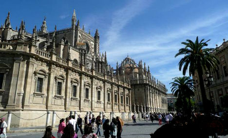 Seville Cathedral - the largest cathedral in Spain and 3rd largest in the world
