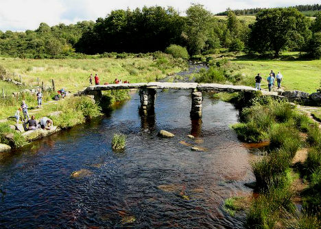 Postbridge, Dartmoor National Park, England, United Kingdom