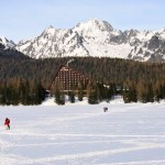 Štrbské Pleso – a favorite ski, tourist, and health resort in the High Tatras mountains in Slovakia