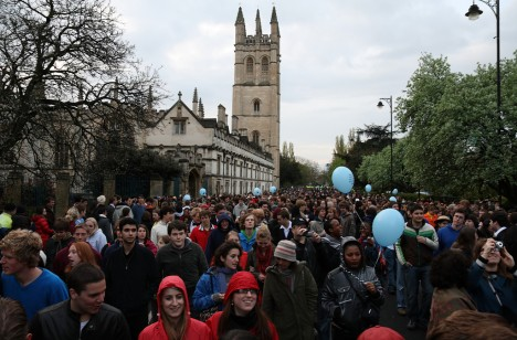 May Day, Oxford, England, United Kingdom