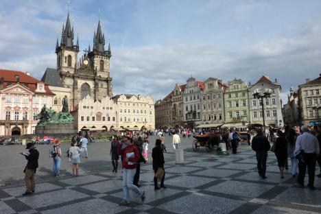 Old Town Square, Prague, The Czech Republic