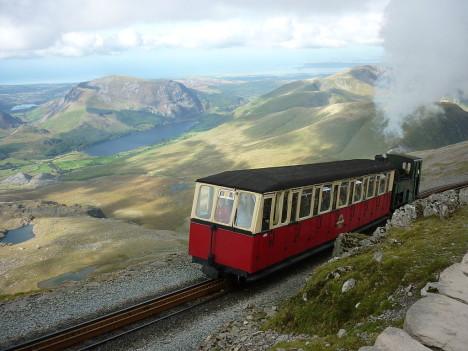 Snowdon Mountain Railway, England, UK