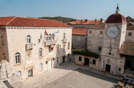 Main Square, Trogir, Croatia