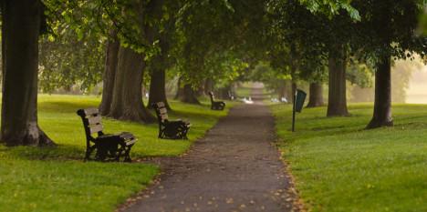 Royal Victoria Park, Bath, England, UK